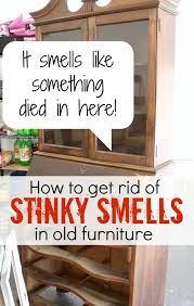 how to remove odor from wood cabinets how to get gross smells out of old furniture atta says
