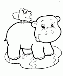 baby jungle animals coloring pages spencer u0027s 1st birthday