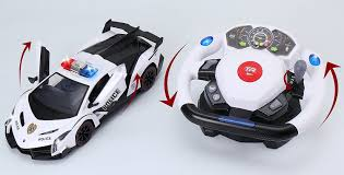 remote control police car with lights and siren mylittleshop88 remote control police car 4d motion gravity and