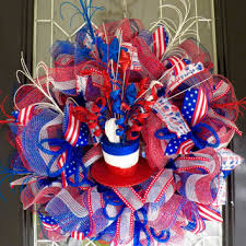 4th of july wreaths shop fourth of july decor on wanelo