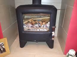 multi fuel log coal burning stove dimplex langbrook 5 in