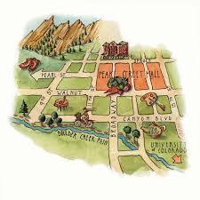 Map Of Western Colorado by Wanderings Boulder Colorado Western Art U0026 Architecture