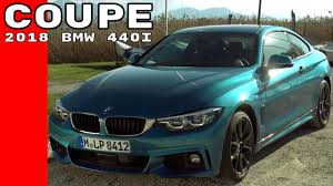 2018 bmw 440i 4 series coupe drive interior walkaround youtube