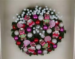 gingerbread wreath 30 inch