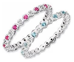 stackable birthstone rings for mothers best 25 rings ideas on stackable birthstone
