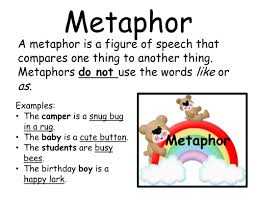 and metaphors literacy center