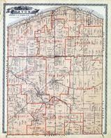avon ohio map historic map works residential genealogy