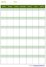 12 best images of blank calendar form to print printable blank