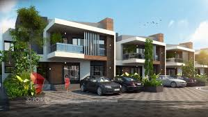 Home Exterior Design In Pakistan by Township Company Raichur 3d Power