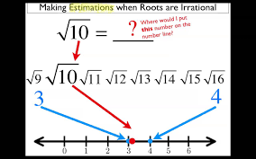 estimating irrational numbers youtube