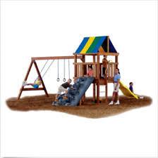 Flexible Flyer Backyard Swingin Fun Metal Swing Set Swing Set Ebay
