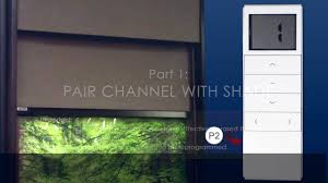 how to program motorized soluna roller shades youtube