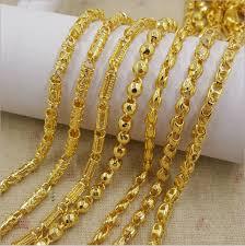 gold chain necklace wholesale images Wholesale dubai new 18k gold chain necklace design for men buy png