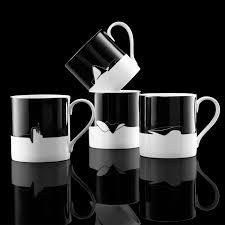 morning ritual enjoying coffee and tea in modern style