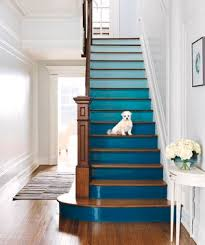 Staircase Decorating Ideas 4 Diy Decorating Ideas For A Staircase Real Simple