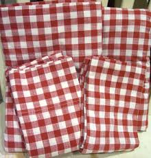 rare ralph lauren cold spring red gingham check queen 4pc sheet