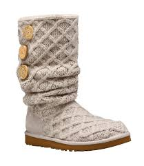 s pull on boots australia ugg australia s w lattice cardy pull on boots santa