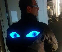 crazy giant eyeball bike lights 5 steps with pictures