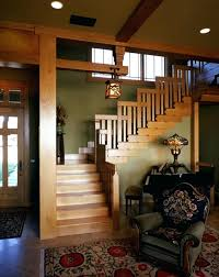 style homes interior craftsman home interior magnificent modern wooden style staircase