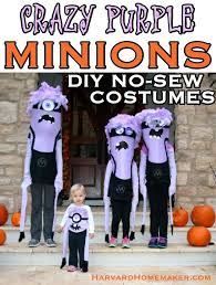 purple minion costume diy purple minion costumes harvard homemaker