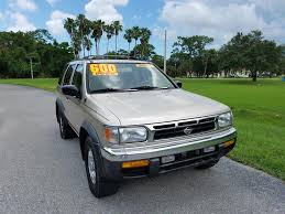 pathfinder nissan 1998 gold nissan pathfinder in florida for sale used cars on