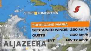 Puerto Rico On Map by Hurricane Maria Makes Landfall In Puerto Rico Youtube