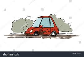 white jeep stuck in mud cartoon car stuck mud stock vector 489843517 shutterstock