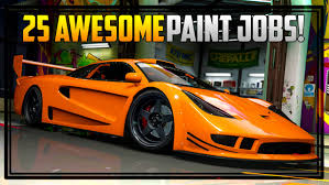 25 awesome paint jobs for the cunning stunts vehicles gta online