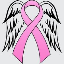 cancer ribbon with wings clipart cancer ribbon with wings clip