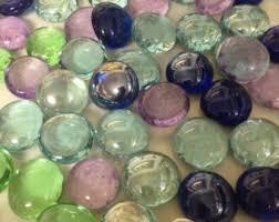 Clear Vase Gems Raw Clay Planter Etsy