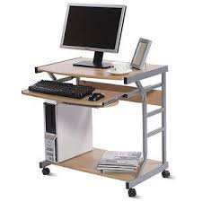 Smallest Computer Desk Best 25 Mobile Computer Desk Ideas On Pinterest Diy Storage