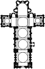 latin cross floor plan arch161 the angouleme cathedral