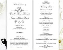 cheap printed wedding programs cheap wedding program simple programs for wedding