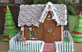 christmas gingerbread house how to make build a gingerbread house with photos recipe