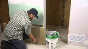 how to replace rotting drywall repairing walls youtube