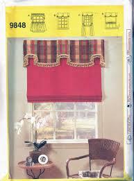 sewing patterns home decor drapes sewing pattern valance jabbot u0026 cafe curtains patterns