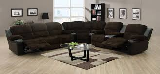 sectional sofas with recliners and cup holders ashley furniture sofa table plus tan leather as well charcoal grey