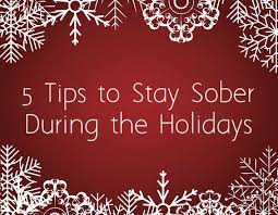5 tips to stay sober during this season