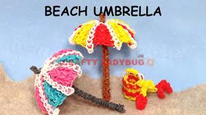 Kids Beach Chair With Umbrella Rainbow Loom Band 3d Beach Umbrella Difficult Charm Tutorials By