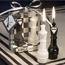 candle wedding favors king chess candle wedding favors and gift souvenir