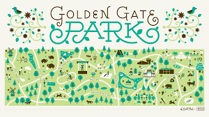 Blossom Music Center Map An Illustrated Guide To Golden Gate Park U2014 The Bold Italic U2014 San