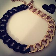 black gold chain necklace images Jewels chain gold chain gold black black chain necklace jpg
