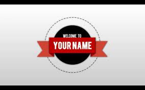 free 2d text animation intro template sony vegas youtube