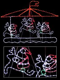 Christmas Rope Light Silhouette by Graphics For Christmas Light Silhouette Graphics Www