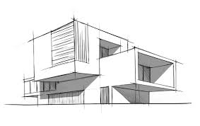 sketch of top ten modern awesome modern architecture sketch modern building baihusi