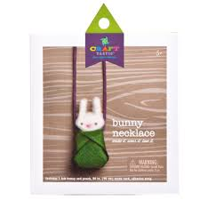 craft tastic bunny necklace kit ann williams group