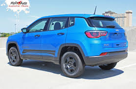 jeep body kits course jeep compass vinyl graphics decal stripe lower body door