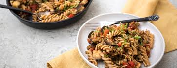 cuisine ratatouille ratatouille recipe vegan fusilli pasta
