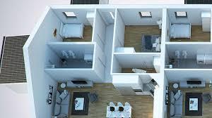 multi familly building 3d floor plan u2013 viscato