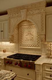 custom kitchen backsplash amazing ornate tile and installation in this fabulous luxury